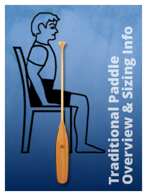 Traditional Paddle Overview and Sizing Information